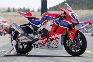 MotoGP | Team HRCのホンダCBR1000RR SP2 2019年仕様(右フロント)