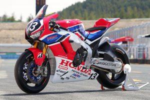 MotoGP | Team HRCのホンダCBR1000RR SP2 2019年仕様(左フロント)