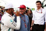 F1 | 2018年F1第1戦オーストラリアGP ルイス・ハミルトン(メルセデス), ニキ・ラウダ, トト・ウォルフ