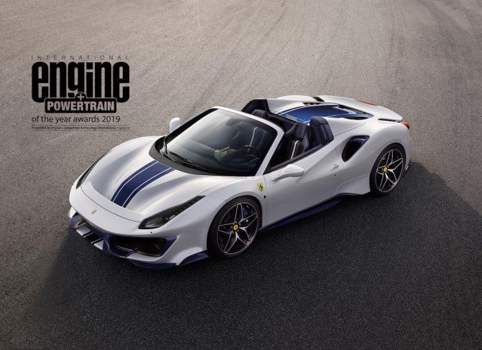 クルマ | フェラーリのV8が4年連続で国際エンジン&パワートレイン・オブ・ザ・イヤーを受賞