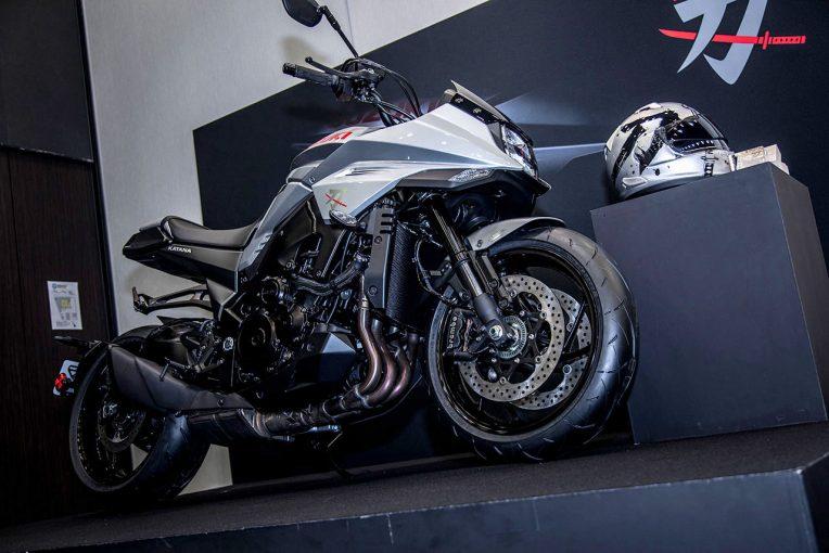 MotoGP | スズキの新型カタナが19年ぶりに日本で復活。5月30日発売、価格も発表に