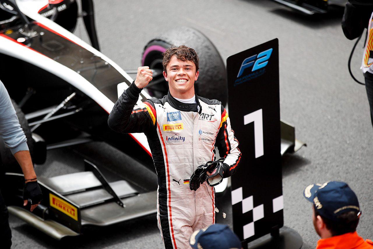 FIA-F2第4戦モナコ ニック・デ・フリース(ART)