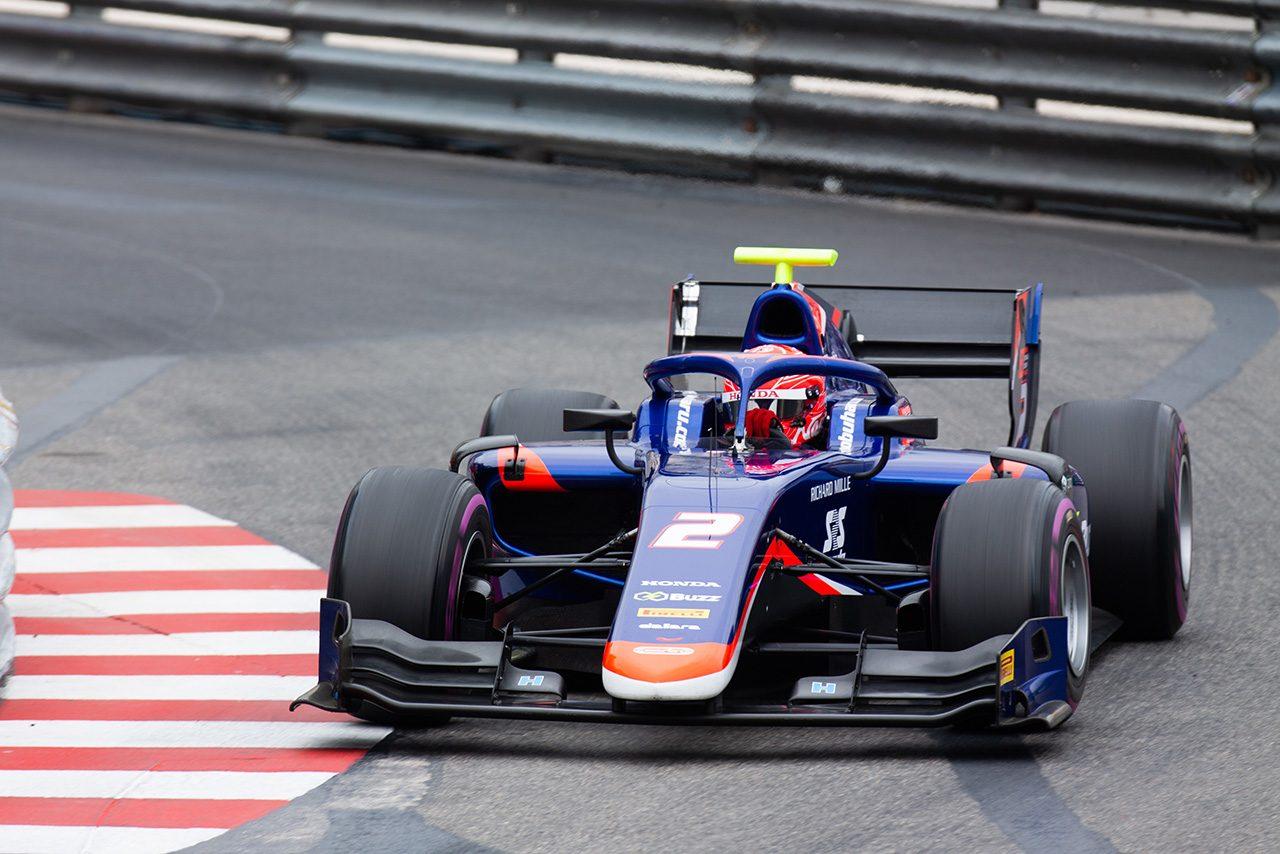FIA-F2第4戦モナコ 松下信治(カーリン)