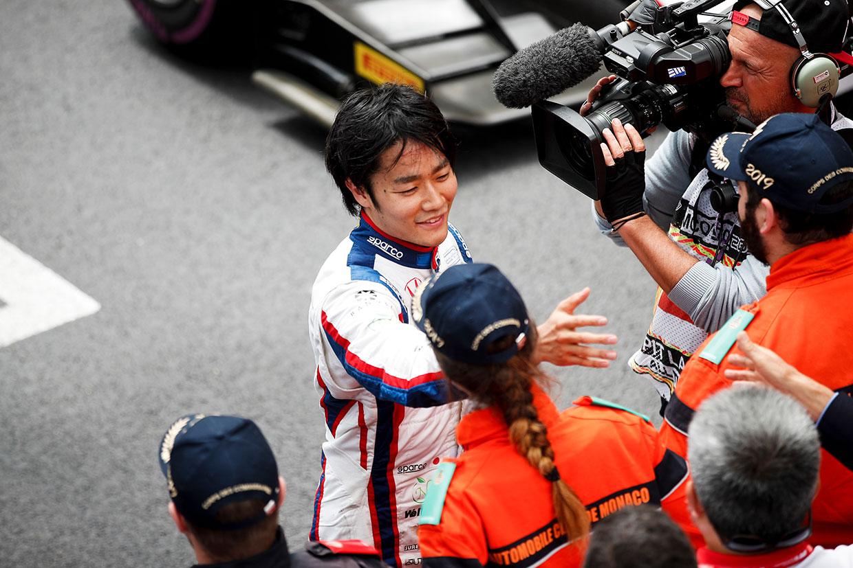 FIA-F2第4戦モナコ レース1 松下信治(カーリン)