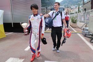 海外レース他 | 今シーズン初の表彰台で、自信を取り戻した松下信治。「思い切って走り方を変えたら、ペースが上がった」/FIA-F2 モナコ