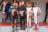 海外レース他 | FIA-F2第4戦モナコ レース1 ニック・デ・フリース(ART), ルカ・ギオット(ユニヴィルトゥオーシ), 松下信治(カーリン)