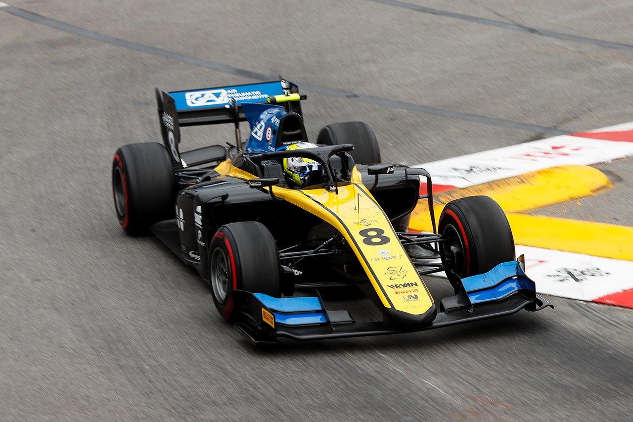 2019年FIA-F2第4戦モナコ ルカ・ギオット(ユニヴィルトゥオーシ)