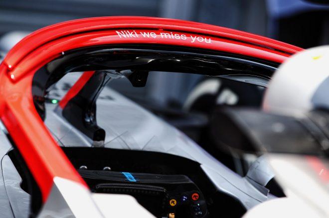 2019年F1第6戦モナコGP メルセデス、ラウダ追悼の意を込め、スペシャルカラーのヘイローを使用