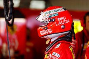 F1 | 2019年F1第6戦モナコGP セバスチャン・ベッテル(フェラーリ)、ラウダ追悼デザインのヘルメットを使用