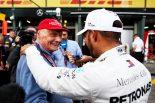 2018年F1オーストラリアGP ニキ・ラウダとルイス・ハミルトン