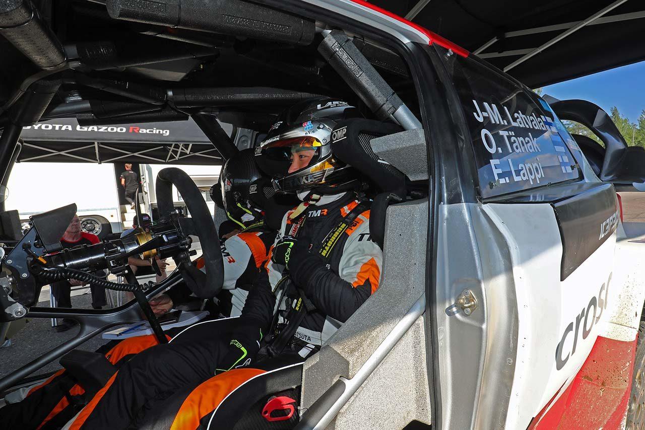 勝田は2018年、トヨタ・ヤリスWRCをグラベルで試乗した経験もある