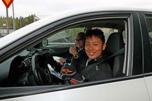 ラリー/WRC | リーヒマキ・ラリーのレッキをこなす勝田貴元