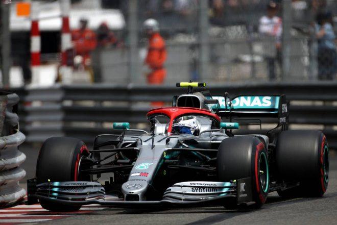 2019年F1第6戦モナコGP バルテリ・ボッタス(メルセデス)