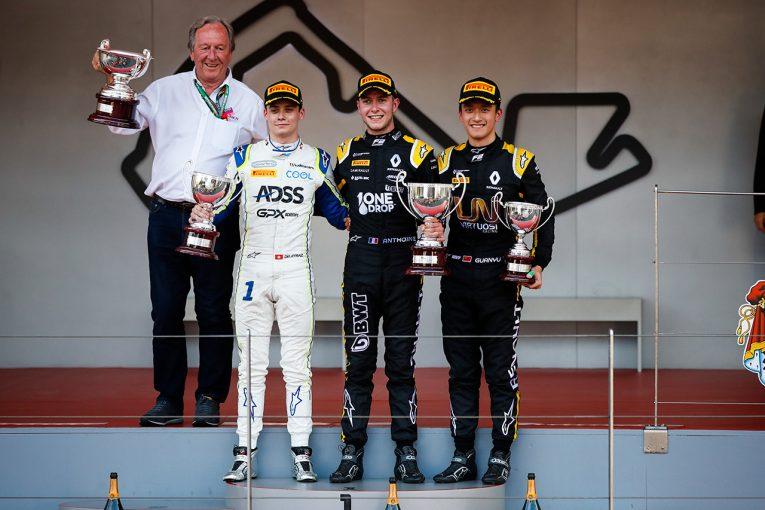 海外レース他 | FIA-F2第4戦モナコ レース2:最終ラップまで続いた接戦を制したユベールがF2初優勝。松下は入賞逃す