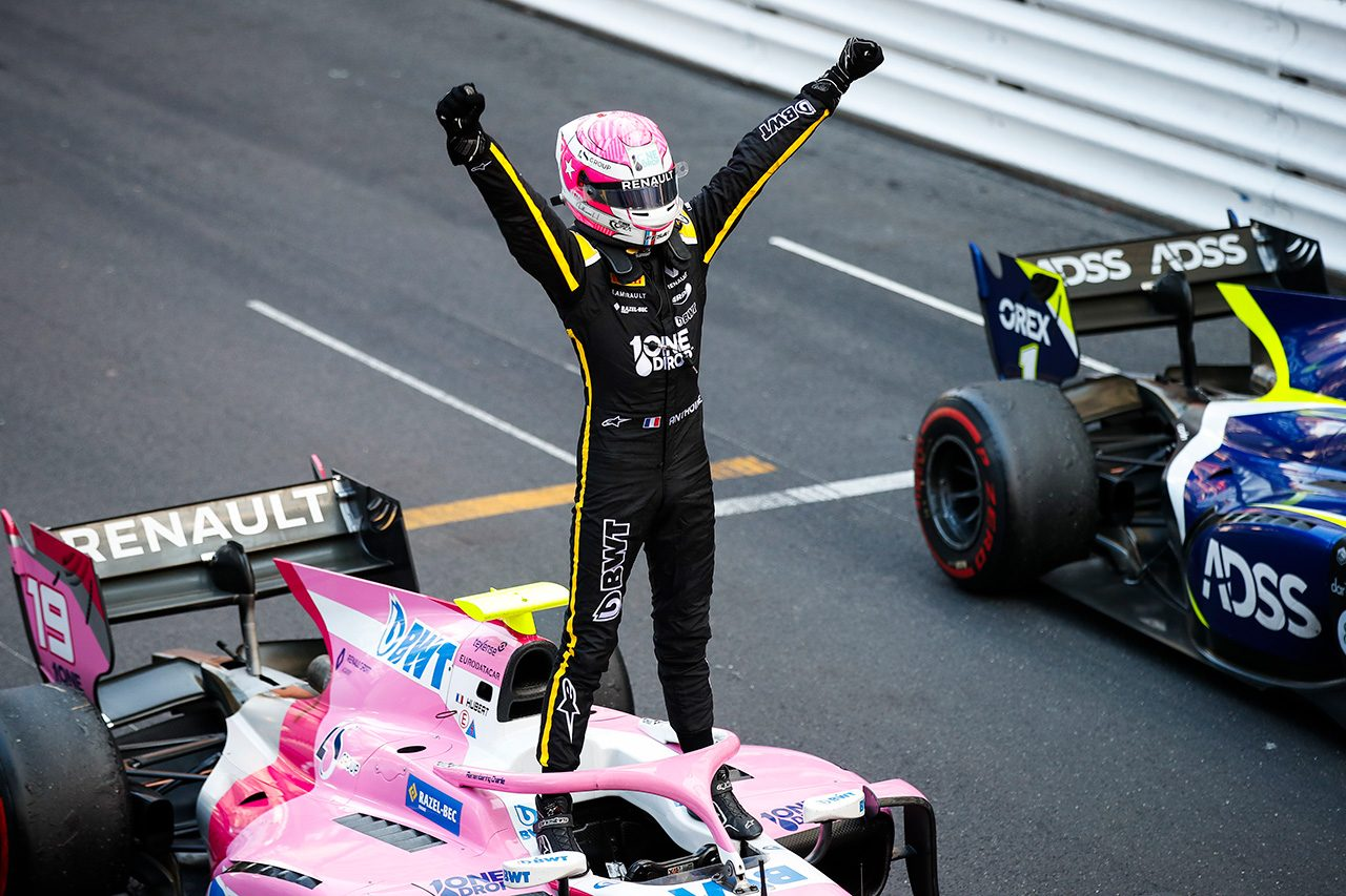 2019年FIA-F2第4戦モナコ アンソニー・フバート(BWTアーデン)