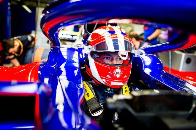 2019年F1第6戦モナコGP ダニール・クビアト(トロロッソ・ホンダ)