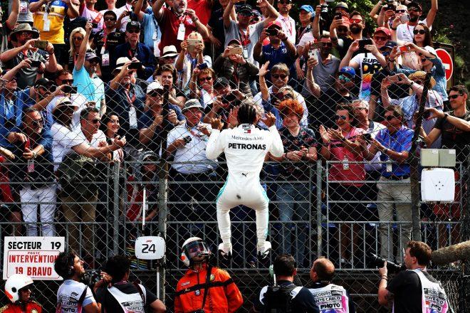 2019年F1第6戦モナコGP ルイス・ハミルトン(メルセデス)がポールポジションを獲得
