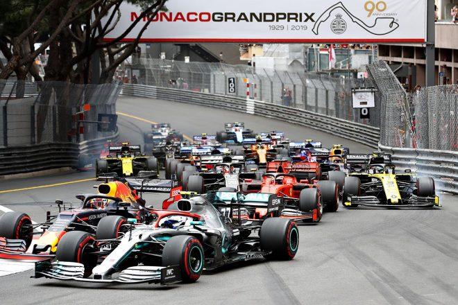 2019年F1第6戦モナコGP決勝レーススタート