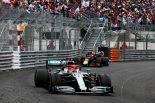 F1 | 【動画】レース終盤のトップバトルでハミルトンとフェルスタッペンが接触/F1モナコGP決勝