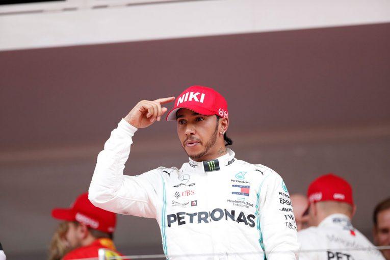 F1   F1モナコGP決勝:激闘を制したハミルトンが辛勝。フェルスタッペンはペナルティで2位を失うも、ホンダPU勢が4台入賞