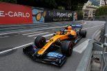 2019年F1第6戦モナコGP ランド・ノリス(マクラーレン)