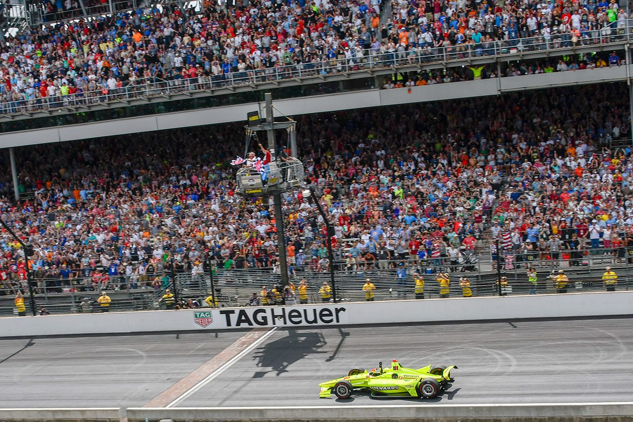 【順位結果】第103回インディアナポリス500マイルレース決勝レース