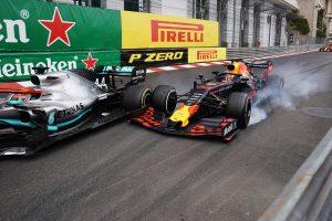 F1 | 2019年F1第6戦モナコGP マックス・フェルスタッペン(レッドブル・ホンダ)とルイス・ハミルトン(メルセデス)のバトル