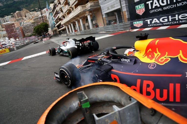 F1 | フェルスタッペン、優勝ならずもポジティブ「ハミルトンに勝つために全力を尽くした。僕らは強かった」:レッドブル・ホンダ F1モナコGP日曜