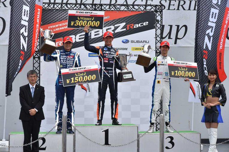 国内レース他   86/BRZ第3戦:SUGO戦は全クラス、全レースでポール・トゥ・ウィン。プロシリーズは阪口良平連勝