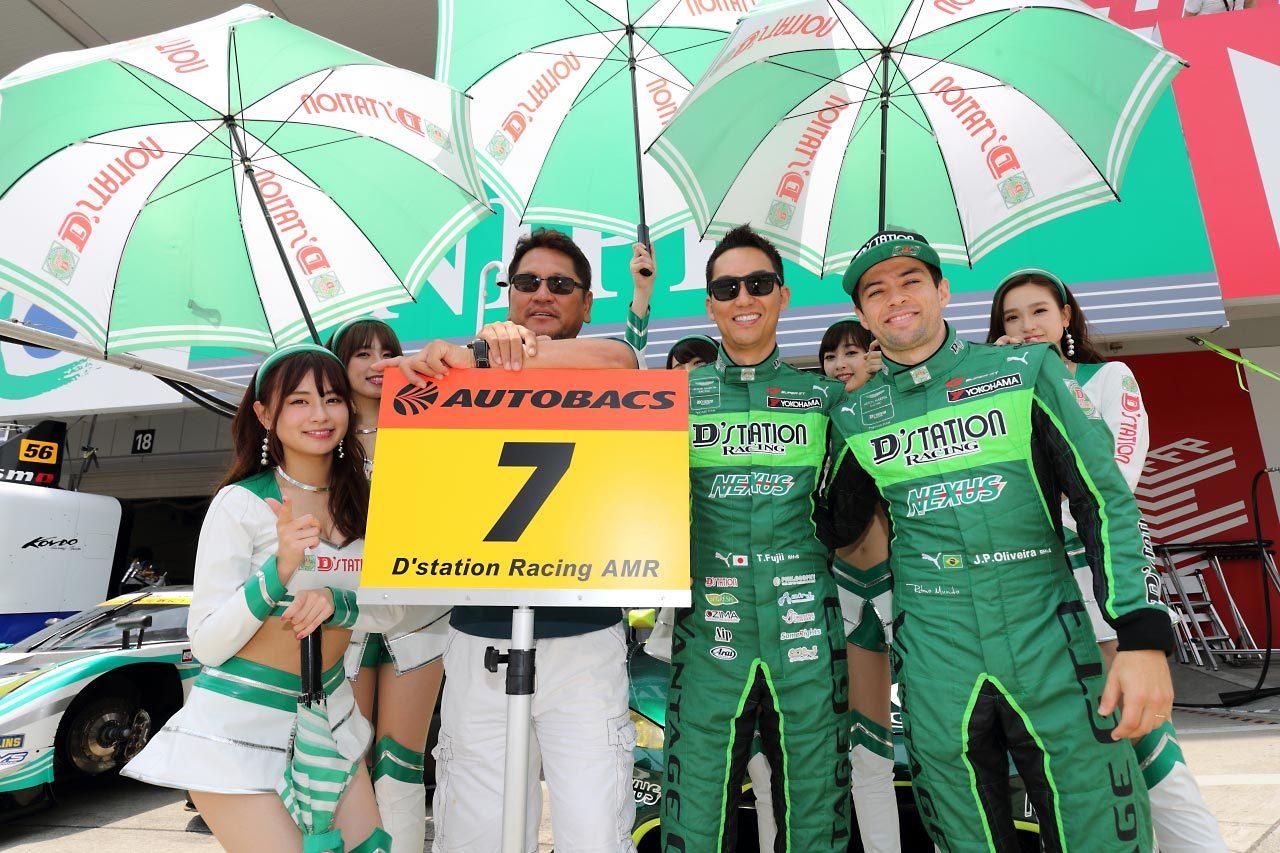 D'station Racing AMR 2019スーパーGT第3戦鈴鹿 レースレポート