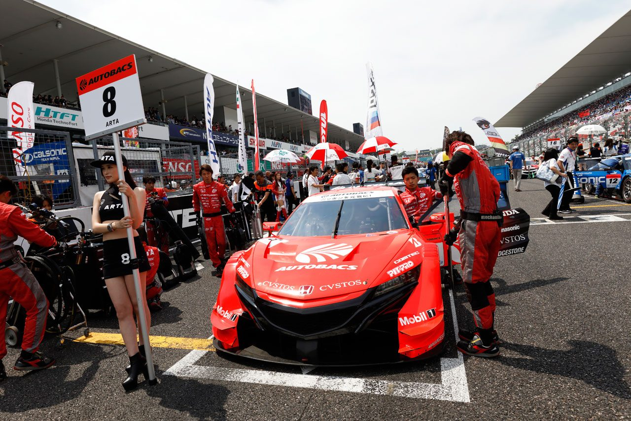 ARTA NSX-GT 2019スーパーGT第3戦鈴鹿 決勝レポート