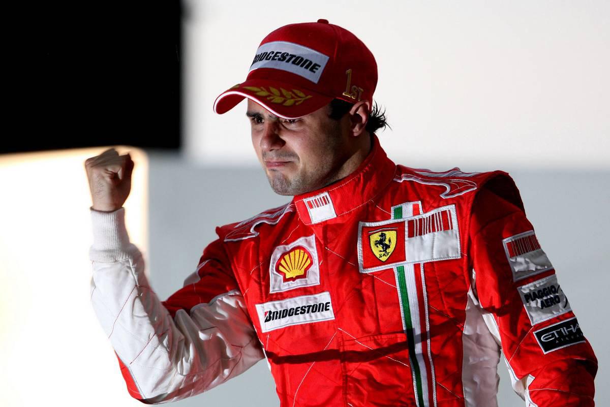 2008年F1最終戦ブラジルGP フェリペ・マッサ(フェラーリ)
