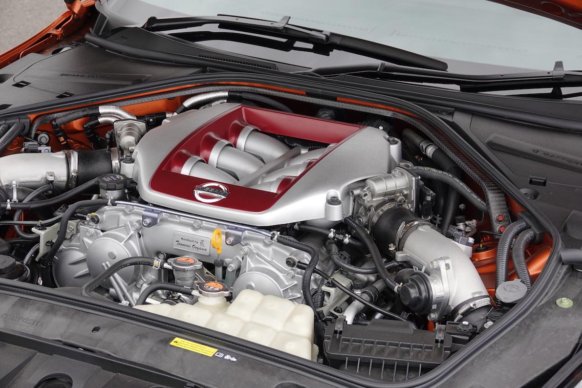 GT-R NISMO GT3は市販車と同じVR38DETTエンジンを搭載。