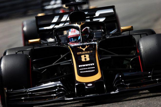 2019年F1第6戦モナコGP ロマン・グロージャン(ハース)