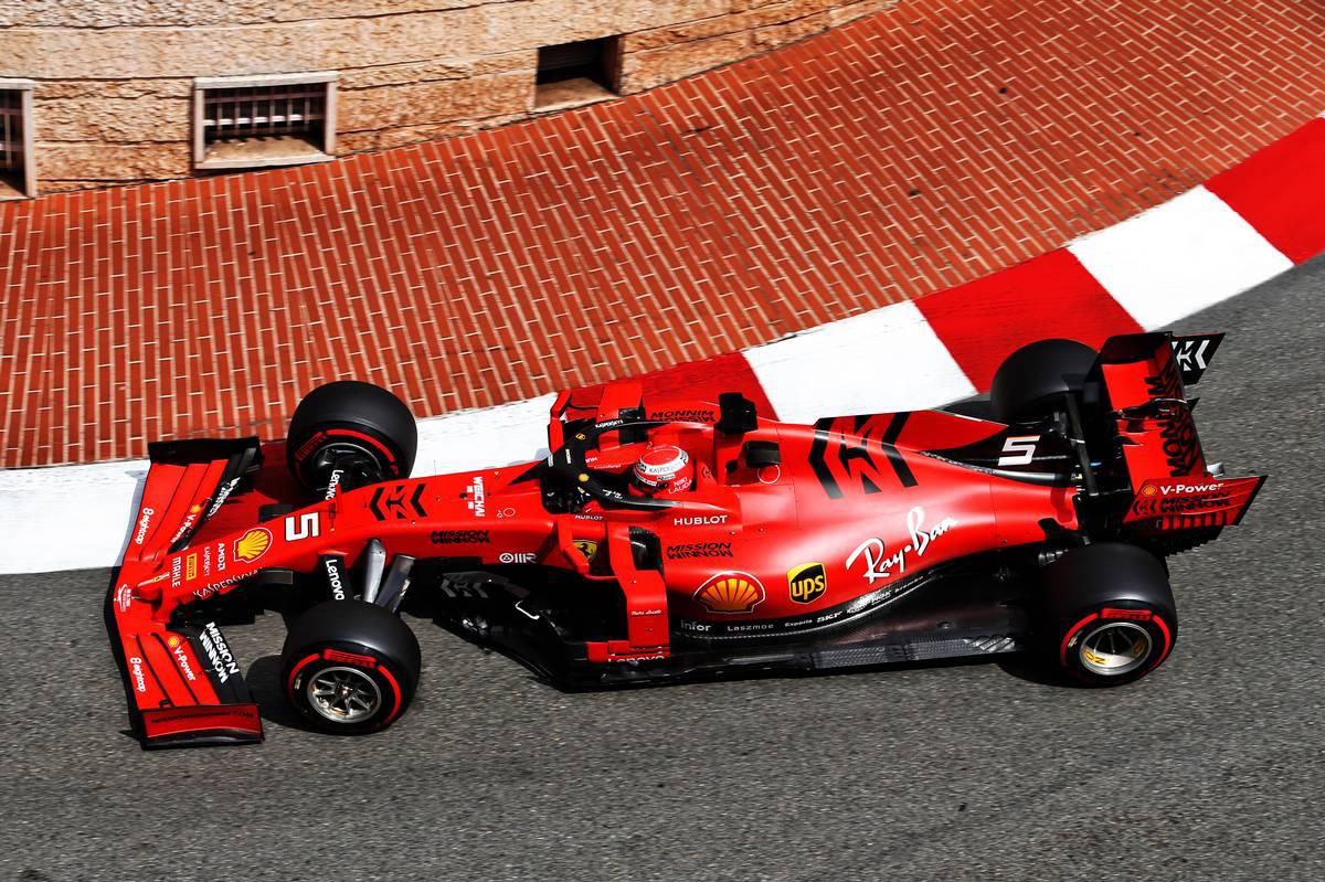 2019年F1第6戦モナコGP セバスチャン・ベッテル(フェラーリ)