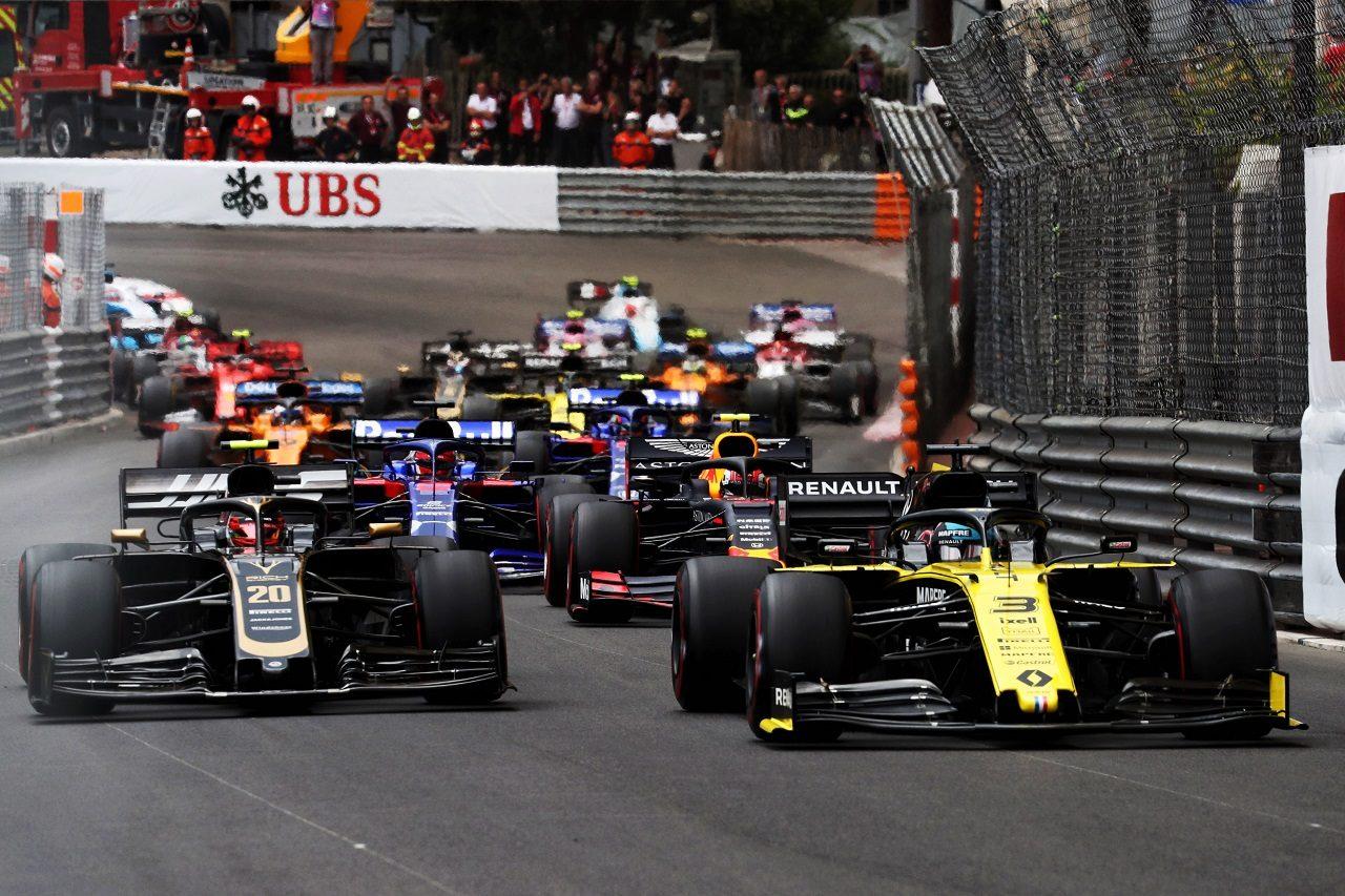 2019年F1第6戦モナコGP ダニエル・リカルド(ルノー)