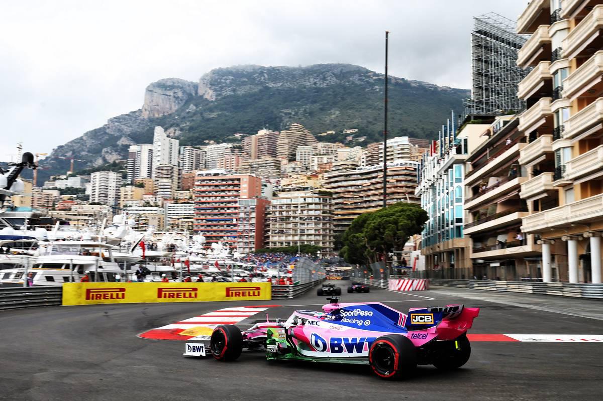 2019年F1第6戦モナコGP セルジオ・ペレス(レーシングポイント)