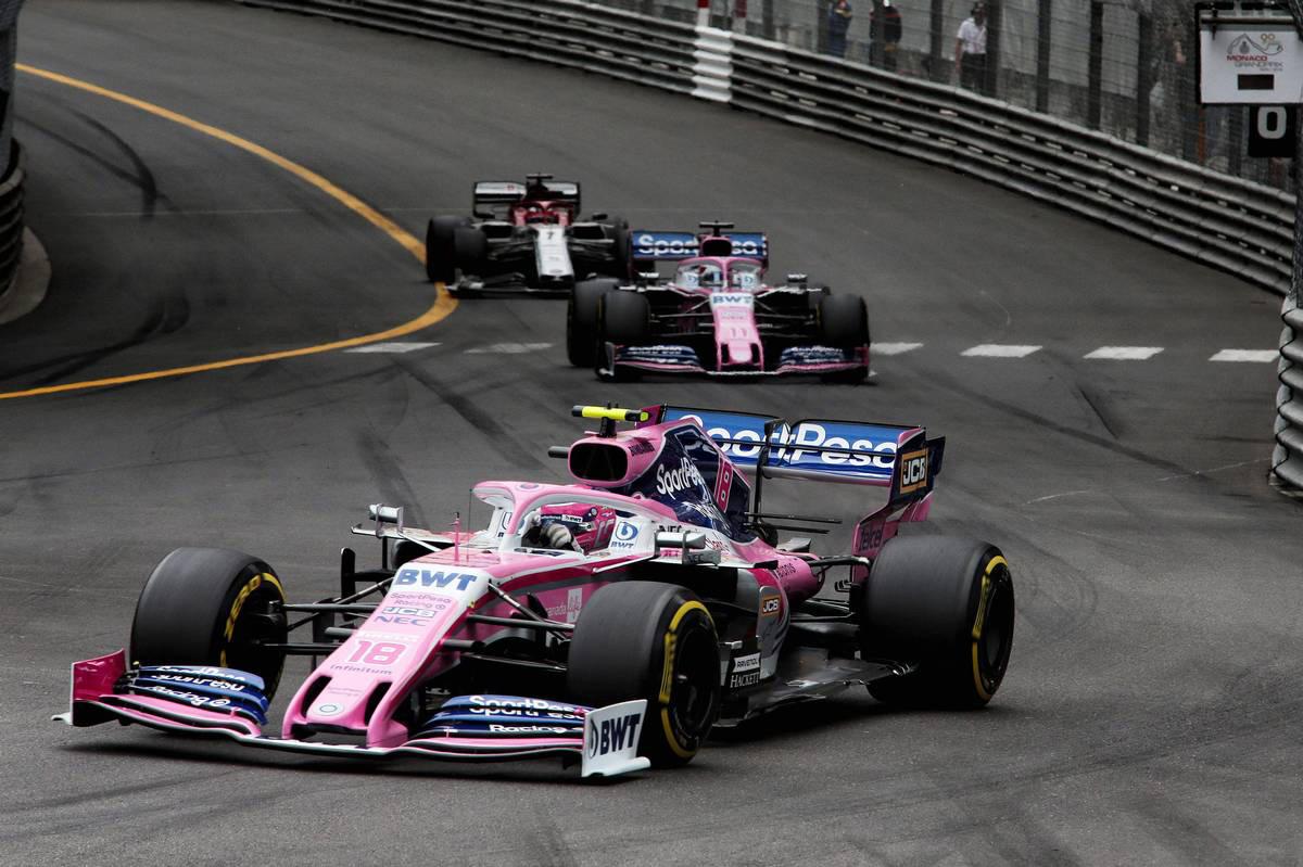 2019年F1第6戦モナコGP ランス・ストロール(レーシングポイント)
