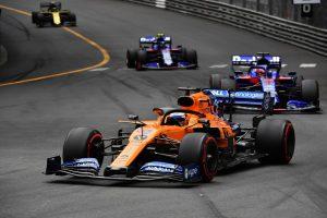 F1 | サインツ6位「キャリアベストのオーバーテイク! トロロッソをアウトから抜き去った」:マクラーレン F1モナコGP日曜