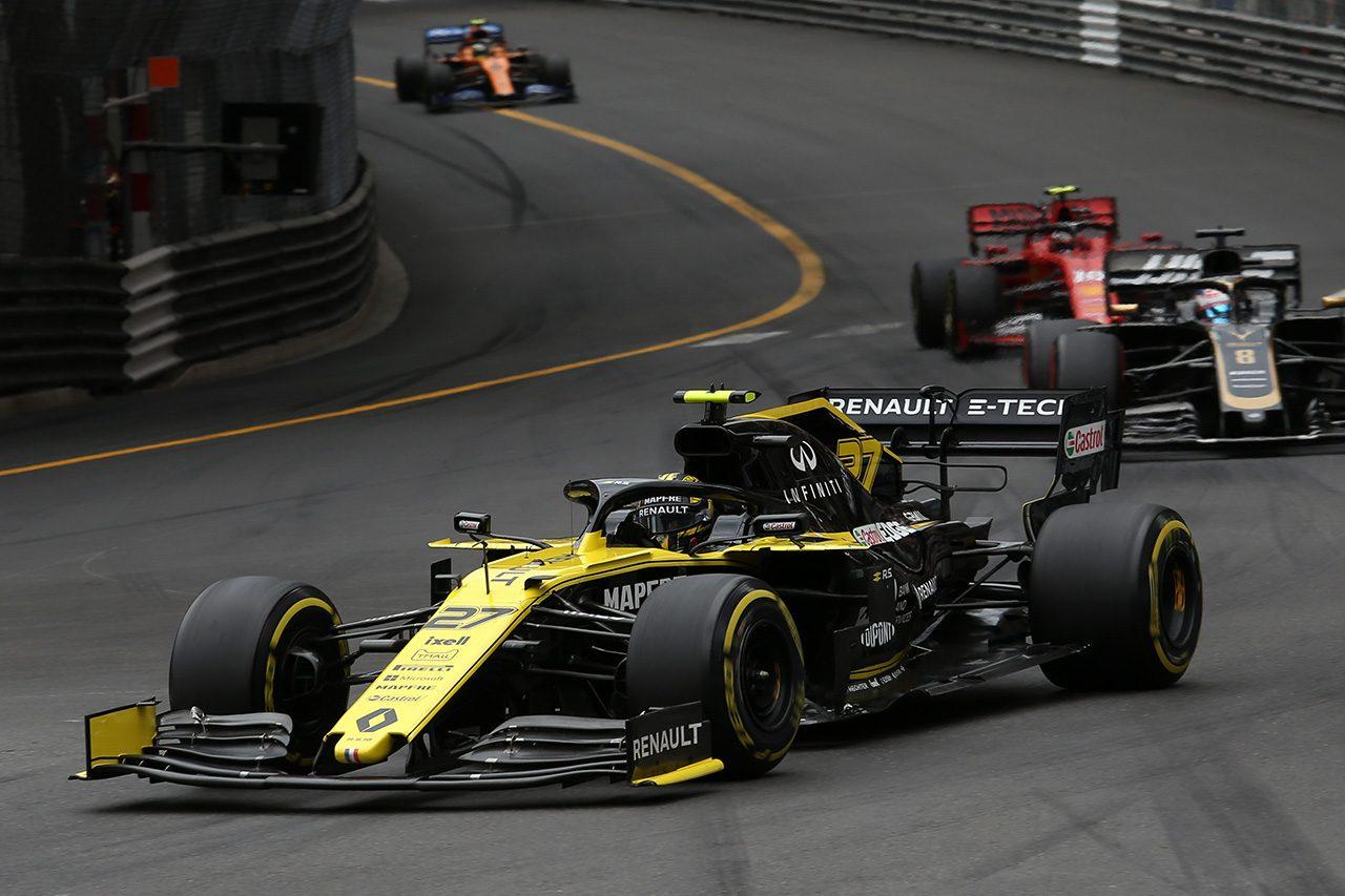 2019年F1第6戦モナコGP ニコ・ヒュルケンベルグ(ルノー)