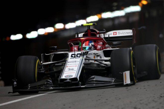 2019年F1第6戦モナコGP アントニオ・ジョビナッツィ(アルファロメオ)