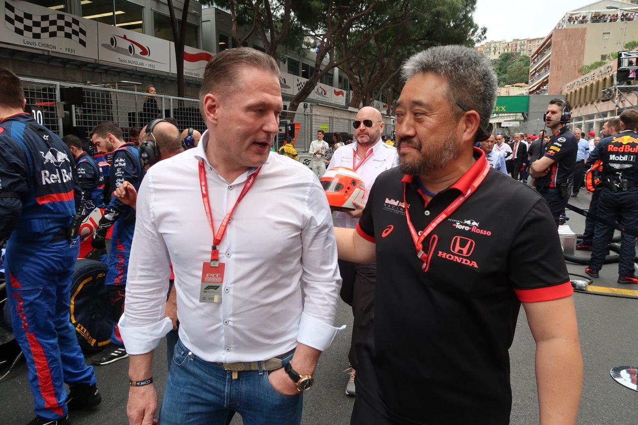 2019年F1第6戦モナコGP ヨス・フェルスタッペン, ホンダF1山本雅史マネージングディレクター