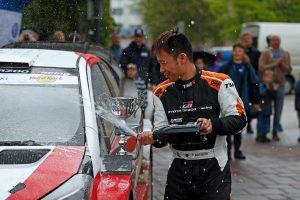 ラリー/WRC | 勝田は3月のイタ・ラリーに続いてトヨタ・ヤリスWRCで2勝目を手にした