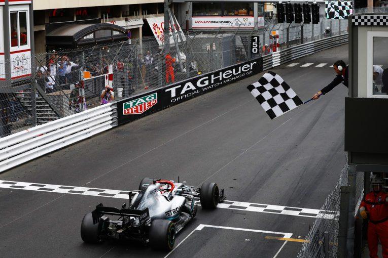 F1 | ウォルフ、戦略ミスにも負けずモナコGPを制したハミルトンを称賛。「彼の走りが勝利をもたらした」
