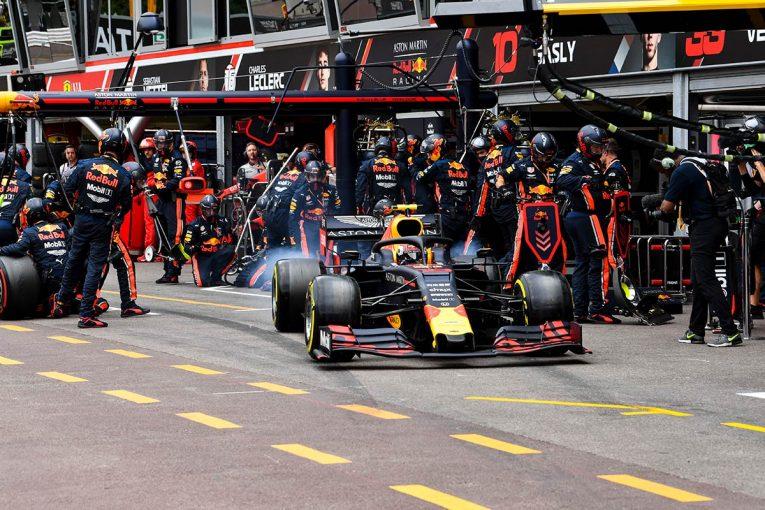 F1   F1 Topic:モナコGP決勝でトップ争いするなか、トルクモードに苦しんでいたフェルスタッペン