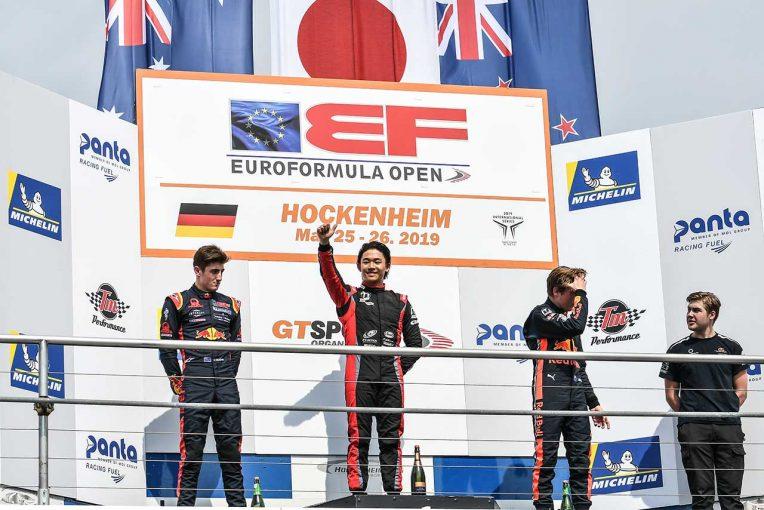 海外レース他   ユーロフォーミュラ・オープン第3大会で日本勢連勝。レース1は佐藤万璃音、レース2は角田裕毅が制す