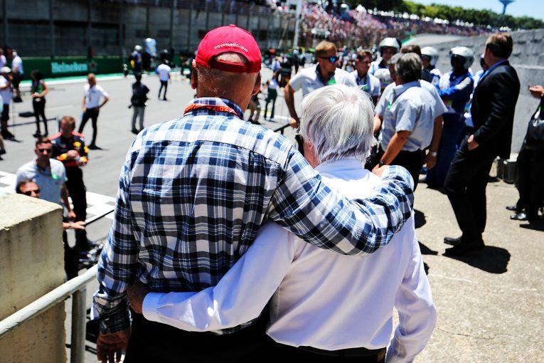 F1 | 元F1最高責任者エクレストン、ラウダの葬儀には参列せず「ニキは私のなかで生き続けている」