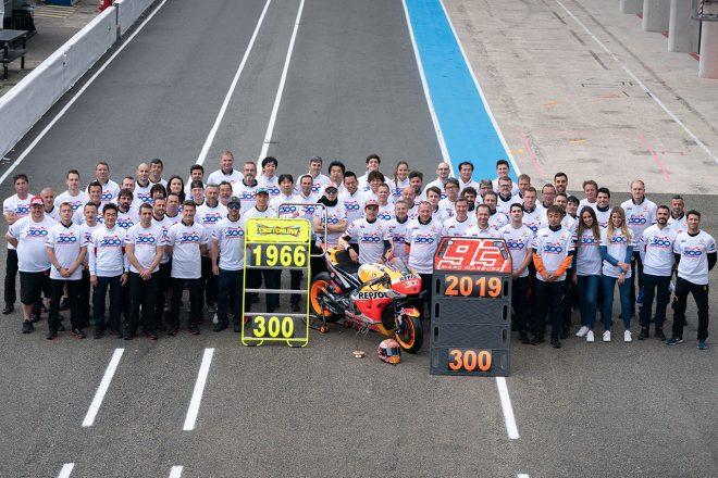 MotoGP:最高峰クラスで300勝を達...