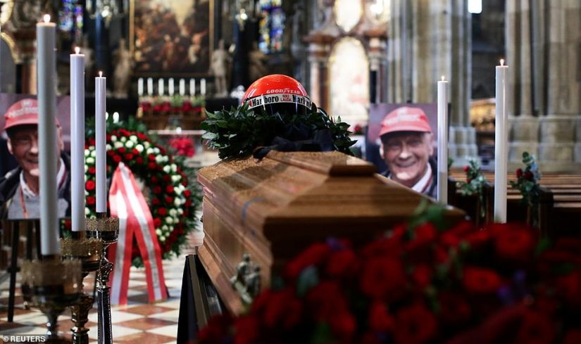 F1 | F1レジェンド、ニキ・ラウダに家族と友人たちが最後の別れ。ウィーンで葬儀営まれる
