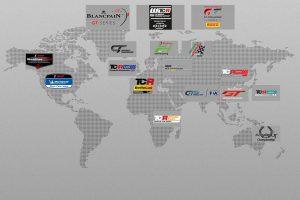 PR | GT3、GT4、TCRを使うレースは世界中に存在。一部を取り上げても、この量だ